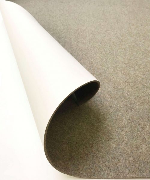 Acoustic wall covering
